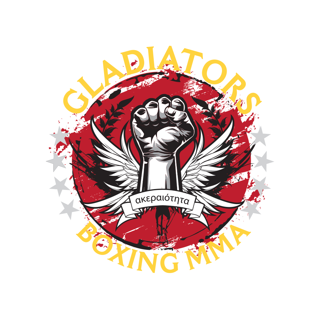 Gladiators Boxing Gym Identity Design