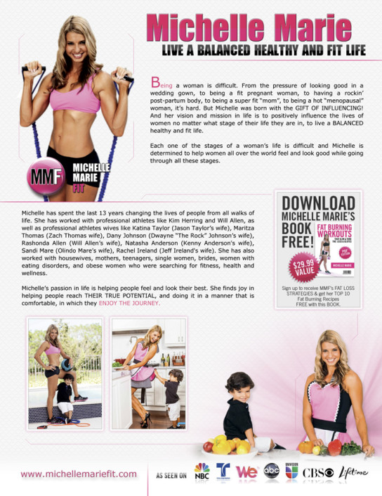 Michelle Marie 1 Page Back