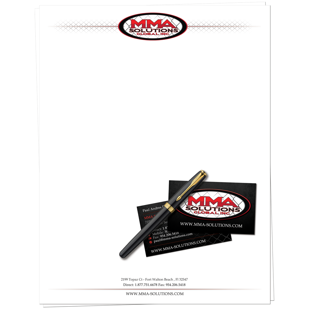 MMA Soluitions Stationary