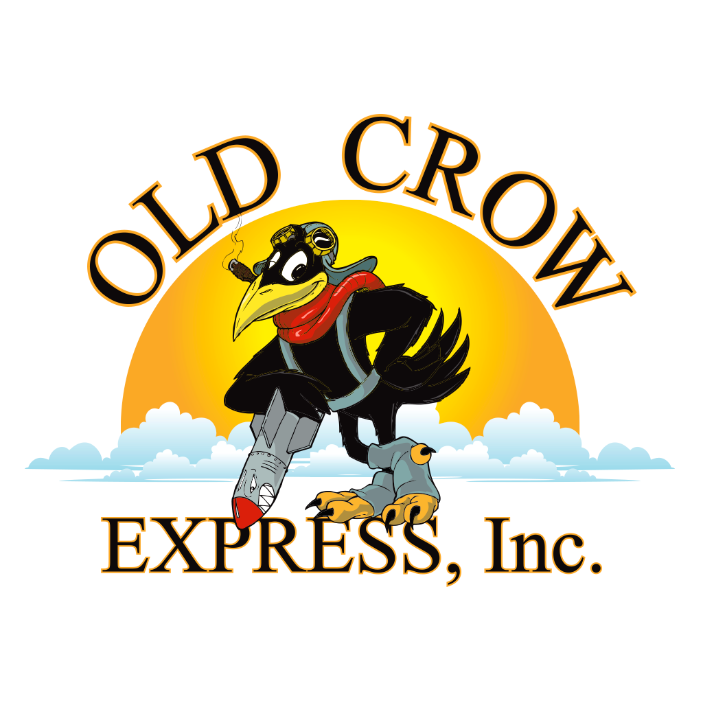 Old Crow Express Identity Design