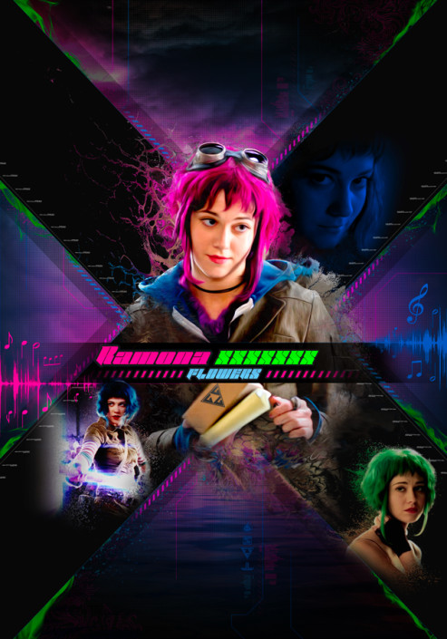 Ramona Flowers and her 7 Deadly Ex's